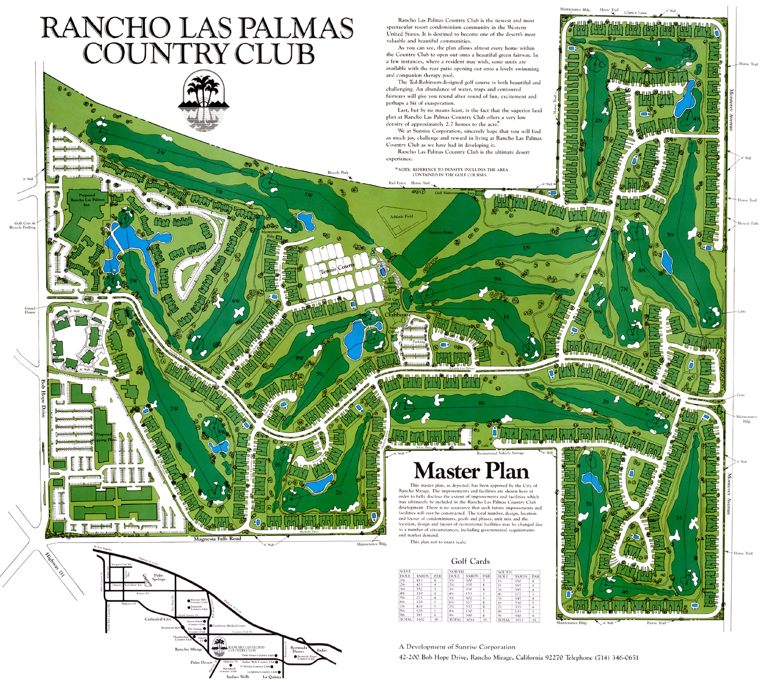 Rancho Las Palmas Country Club Real Estate Private desert country